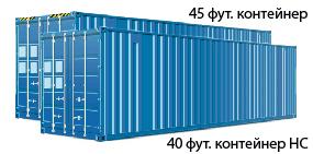 40-футовый контейнер High-Cube