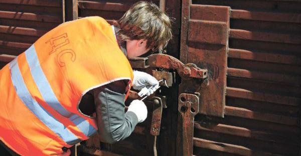 Правила пломбирования вагонов и контейнеров